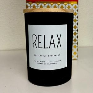 Urban Outfitters eucalyptus spearmint soy candle